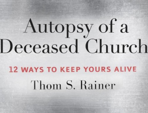 What I'm Reading: Autopsy of a Deceased Church